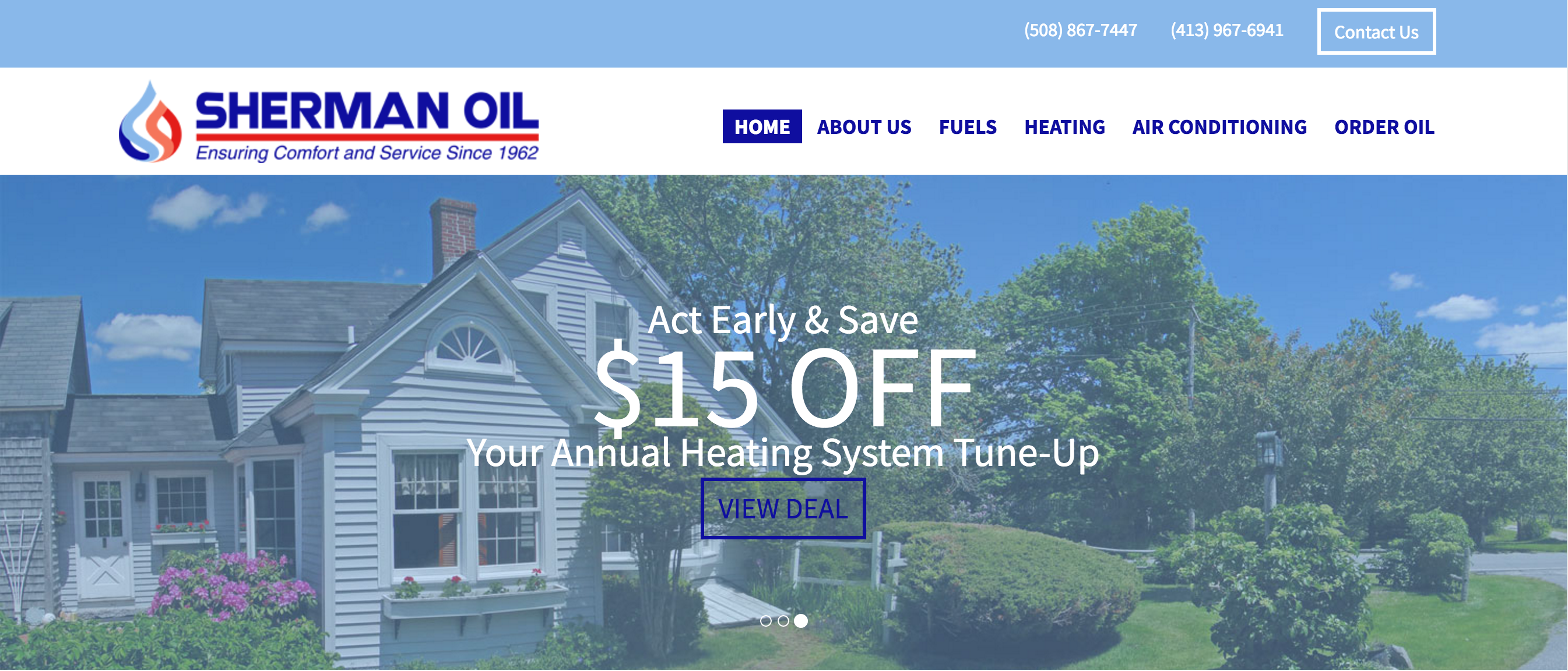 Fuel Delivery and HVAC Services in Central MA